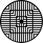 Standardstahlgobo Rosco Geometrics 10 77390