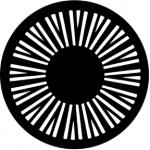 Standardstahlgobo Rosco Geometrics 1 77391