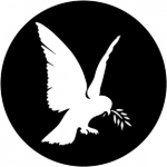 Standardstahlgobo Rosco Dove Of Peace 78089