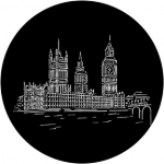 Standardstahlgobo Rosco Houses of Parliament 77445