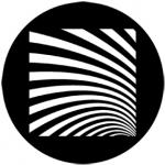 Standardstahlgobo Rosco Geometrics 6 77520