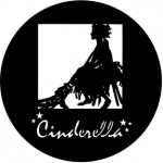 Standardstahlgobo Rosco Cinderella 77586