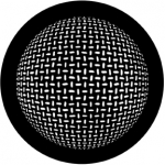 Standardstahlgobo Rosco Grid Sphere 78445