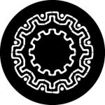 Standardstahlgobo Rosco Cog Motif 78648