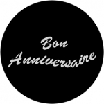 Standardstahlgobo Rosco Bon Anniversaire 78813