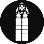 Standardstahlgobo GAM Design Church Window 202