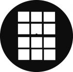 Standardstahlgobo GAM Design Double Hung Window 203