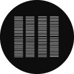 Standardstahlgobo GAM Design Shutters 204