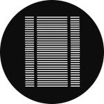 Standardstahlgobo GAM Design Venetian Blinds 205