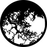 Standardstahlgobo GAM Design Hanging Branches 221