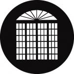 Standardstahlgobo GAM Design French Doors 201