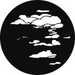 Standardstahlgobo GAM Design Cloud 6 229