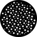 Standardstahlgobo GAM Design Star Breakup 243