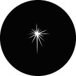 Standardstahlgobo GAM Design Evening Star 245