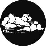 Standardstahlgobo GAM Design Cloud 8 256