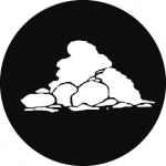 Standardstahlgobo GAM Design Cloud 9 257