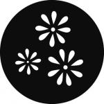 Standardstahlgobo GAM Design Daisy Pattern 258