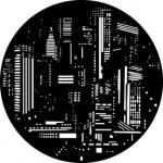 Standardstahlgobo GAM Design City Lights 261