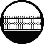 Standardstahlgobo GAM Design Wrought Iron Fence 262