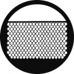 Standardstahlgobo GAM Design Chain Link Fence 263