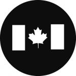 Standardstahlgobo GAM Design Canadian Flag 264