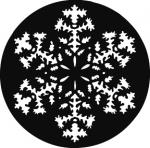Standardstahlgobo GAM Design Snowflake 269
