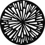 Standardstahlgobo GAM Design Radial Breakup 271
