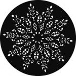 Standardstahlgobo GAM Design Lace 273
