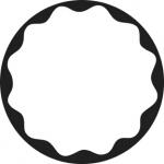 Standardstahlgobo GAM Design Spotlight Gobo 1 274