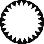 Standardstahlgobo GAM Design Spotlight Gobo 4 277