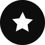 Standardstahlgobo GAM Design Spotlight Gobo 7 280