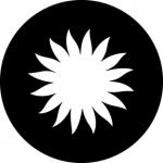 Standardstahlgobo GAM Design Sun A 291