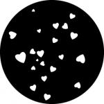 Standardstahlgobo GAM Design Hearts 293