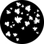 Standardstahlgobo GAM Design Autumn Leaves 307