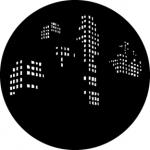 Standardstahlgobo GAM Design City Windows 308