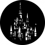 Standardstahlgobo GAM Design Fantasy Castle 316