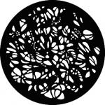 Standardstahlgobo GAM Design Pebbles 317