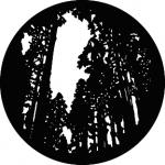 Standardstahlgobo GAM Design Tall Trees 309
