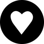 Standardstahlgobo GAM Design Heart 333