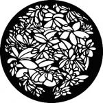 Standardstahlgobo GAM Design Leaf Pattern 341
