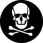 Standardstahlgobo GAM Design Skull 343