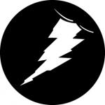 Standardstahlgobo GAM Design Flash! 346