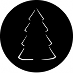 Standardstahlgobo GAM Design Christmas Tree A 537