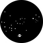 Standardstahlgobo GAM Design Starry Night 358