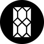 Standardstahlgobo GAM Design Tudor Window 372