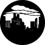 Standardstahlgobo GAM Design Skyline with Clouds 1 373