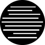 Standardstahlgobo GAM Design Lines 391