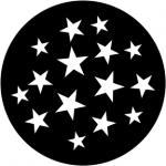 """Standardstahlgobo """"Stars 9"""""""