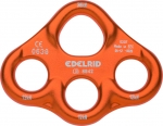 Stahl-Karabiner Edelrid Mini Rig  orange