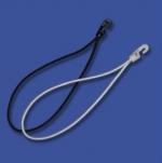 Gummieinbinder schwarz, Länge 26.5 cm , Stärke 4 mm